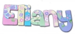 Spring Eliany Hand Painted Wall Letters