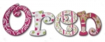 Oren Designs Hand Painted Wall Letters