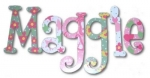 La Petite Princess Hand Painted Wall Letters