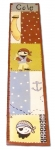 Painted Wood Growth Chart - Pirates