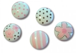 Nail Covers and Knobs - Pink & Brown