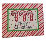 Canvas Paintings - Holiday Candy Canes