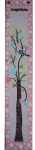 Painted Canvas Growth Chart - Lovely Birdies