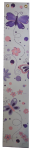 Painted Canvas Growth Chart - Purple Butterfly