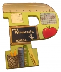 Chalkboard Ruler Green