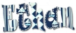 Blue Boats Hand Painted Wall Letters