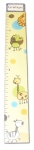 Painted Wood Growth Chart - Jungle Yellow