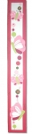 Painted Wood Growth Chart - Butterflies