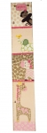 Painted Canvas Growth Chart - Jungle Jill