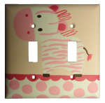 Jungle Jill Switch Plates and Outlet Covers